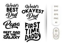 Load image into Gallery viewer, For Father SVG Bundle - Father's Day SVG File