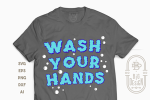 FREE SVG - Wash your Hands SVG  - Stay safe from Corona Svg - 3