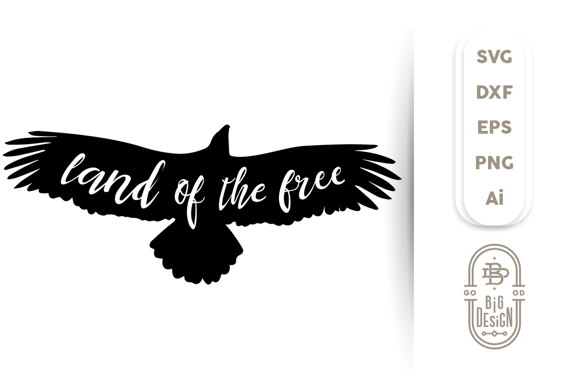 4th Of July Svg Land Of The Free Design Shopy