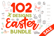 Load image into Gallery viewer, Easter SVG Bundle - 102 Designs for Easter