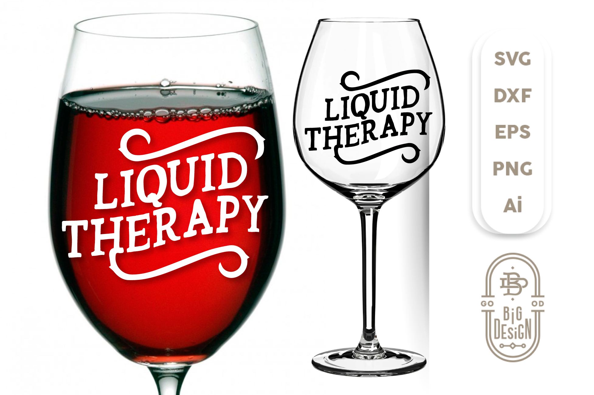 Free If you have any questions, please feel free to message me on etsy. Wine Svg Liquid Therapy Svg Wine Saying Svg Cut File Wine Glass Design Shopy SVG, PNG, EPS, DXF File