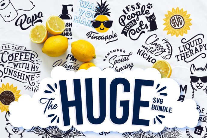 Big Design Huge SVG Cut Files Bundle Preview
