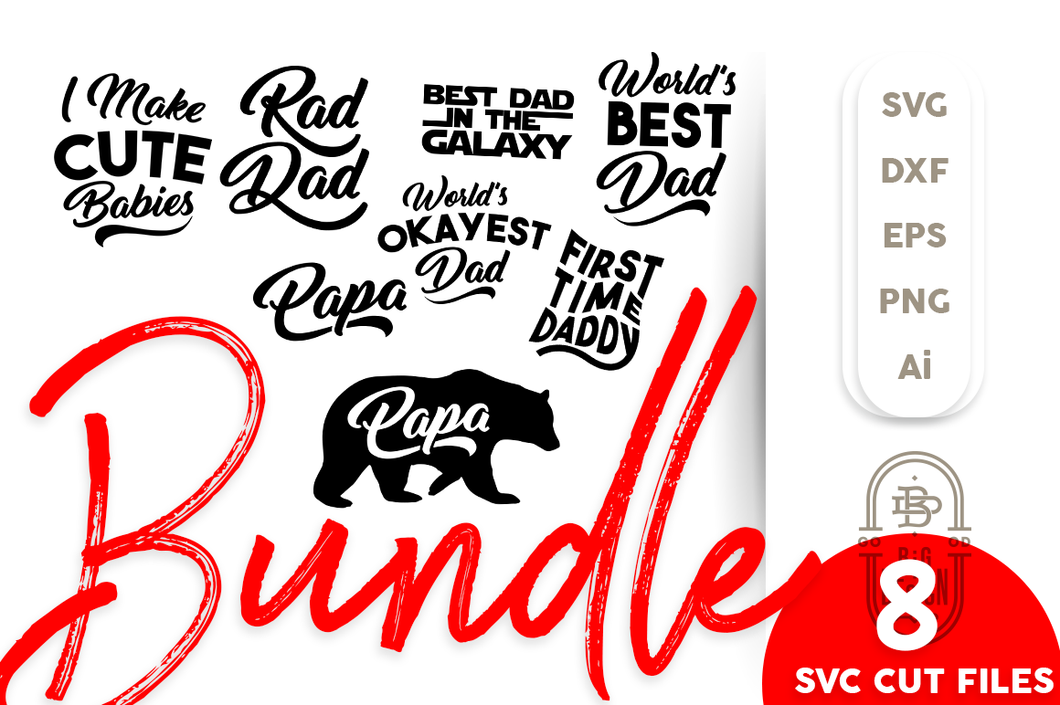 For Father SVG Bundle - Father's Day SVG File