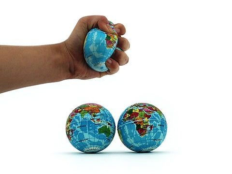 Stress Ball -Globe Design