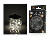 Led String Light - Star - 2 Meters With 20 Lights