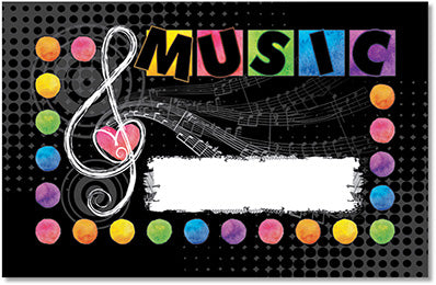 Incentive Punch Cards - Music Love