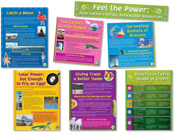 Bulletin Board Set - Alternative Energy & Renewable Resources
