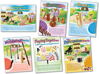 Bulletin Board Set - Musical Instruments