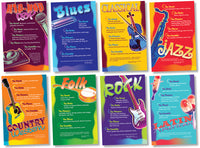 Bulletin Board Set - Music Genres