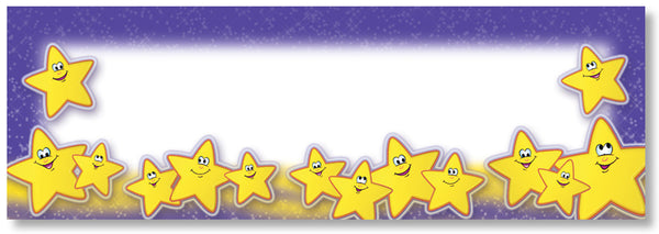 Smiley Stars Classroom Signs