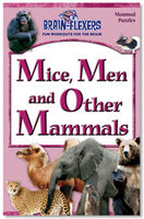 Brain Flexers Puzzle Book - Mice Men And Other Mammals