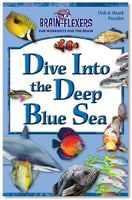 Brain Flexers Puzzle Book - Deep Blue Sea