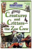 Brain Flexers Puzzle  Book - Creatures And Critters