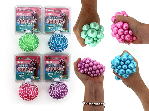 PEARL MESH SQUISHY BALL