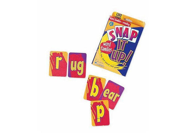 SNAP IT UP GAME WORD FAMILIES