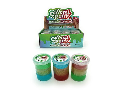 Crystal Putty With Glitter
