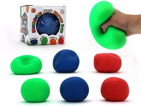 Moldable Super Clay Stress Ball