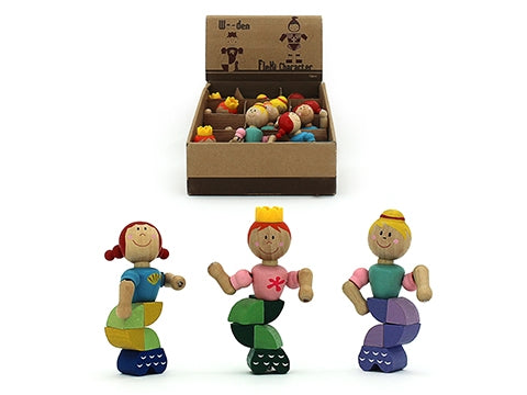 Wooden Flexible Mermaid Puzzle