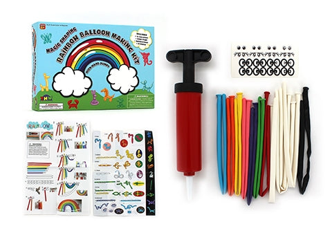 Rainbow Balloon Making Kit