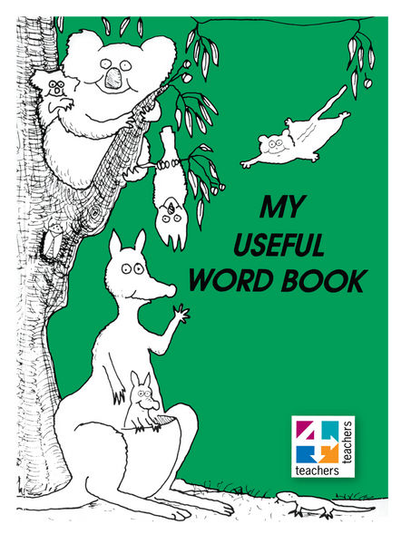 MY USEFUL WORD BOOK (GREEN)