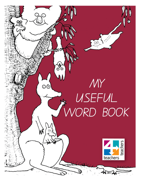 MY USEFUL WORD BOOK (MAROON)