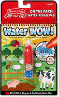 Melissa & Doug - on The Go -Water Wow Colour in Scenes Farm Connect