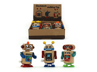 Wooden Clockwork Walking Robot