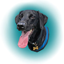 Load image into Gallery viewer, Poly Pawtrait (Design Only)