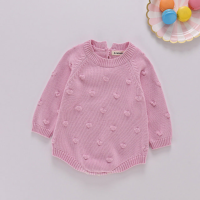 Sodawn 2020 New Spring Autumn Fashion Baby Girls Clothes Long Sleeve Knit Sweater+Shorts Sets of Children Baby Clohting Knit Set