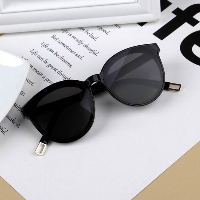 New Infant Kids Baby Girls Boys Fashion Sunglasses Letter Solid Sun Glasses 12 Colors Outdoor Beach protection Accessories