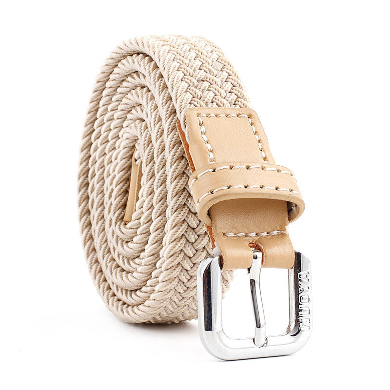 New Children Elastic Fabric Belt Boy Elastic Belts Waist Casual Solid Jeans Belts For Girl Boy Belt Belts