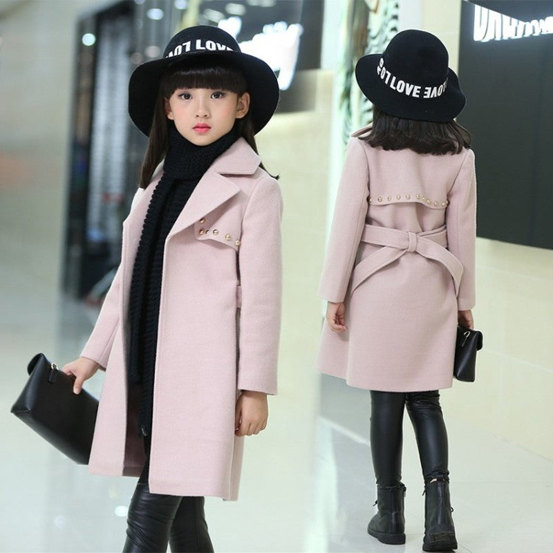 Winter Jackets for Girls Outwear Kids Thick Fleece Coat Girl Snow Suit Baby Jackets Girls Mix Fur Coats Kids Children Clothing