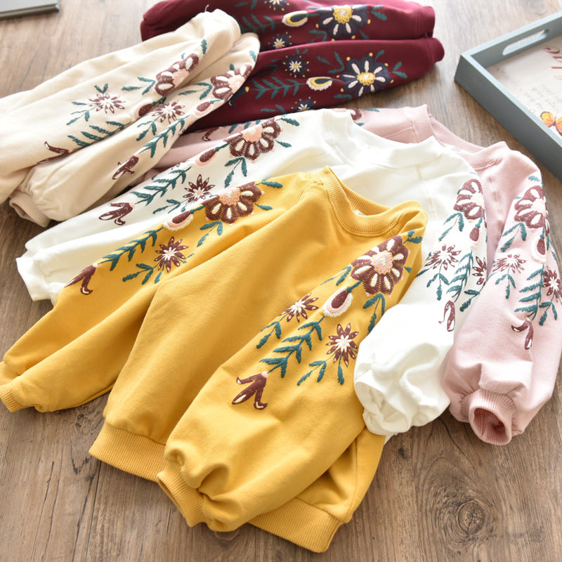 2020 Girls Hoodies Spring Autumn Boys Hoodies Long Sleeve Shirts Girls Clothes