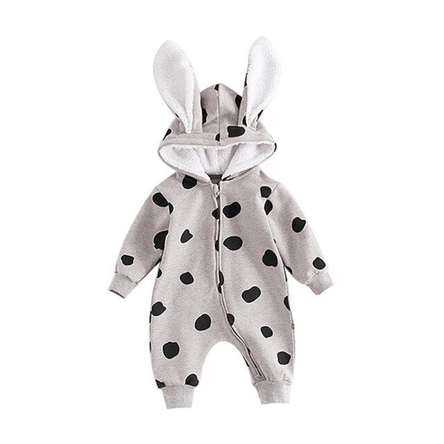 Baby Rompers Cartoon Rabbit Infant Girl Boy Jumpers Kids Baby Outfits Clothes Spring Autumn Clothing