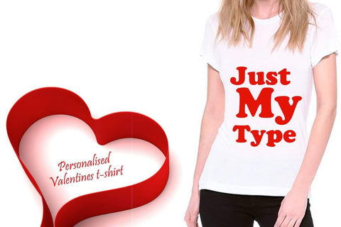 Personalized Valentine's Day T-Shirts