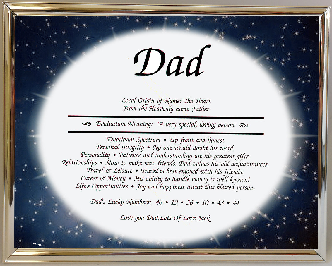 """Dad"" Meaning of the name"