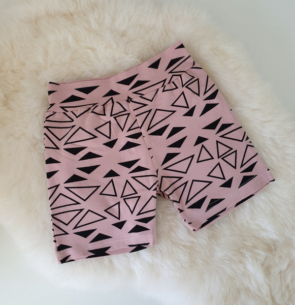 4-5 years Shorts - Pink Aztec