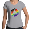 Pride d20 - Scoop Neck T-Shirt
