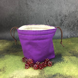 The Classic Greyed Out Dice Bag