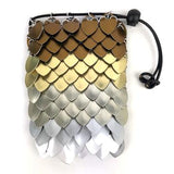Large Scalemaille Dice Bag