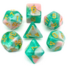 The Reef - 7 piece dice set
