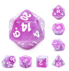 Stars Shine - 7 piece dice set
