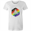 Pride d20 - Fitted T-Shirt