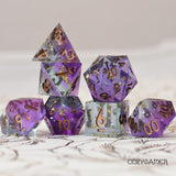 Cozy Gamer - Enchanter's Tower Sharp Edged Dice Set