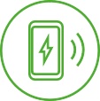 App Control - everything under control:You decide who uses your ŠKODA iV Charger Connect or Connect+. You can authorise vehicles or lock and unlock the Wallbox using RFID or via the MyŠKODA Powerpass app.