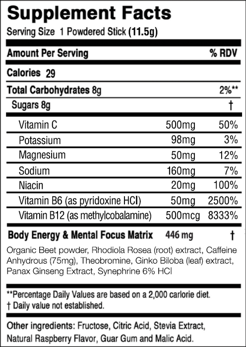 Clean Energy - Mixed Berry Performance Pro® (20 Pack) - MindFx