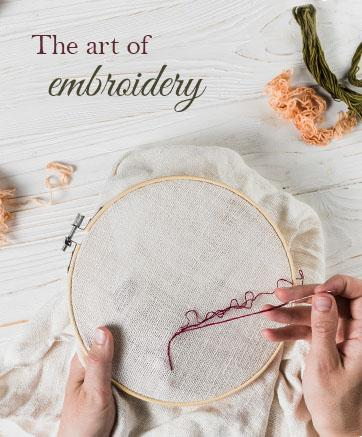 The Art of Embroidery - Luxurionworld