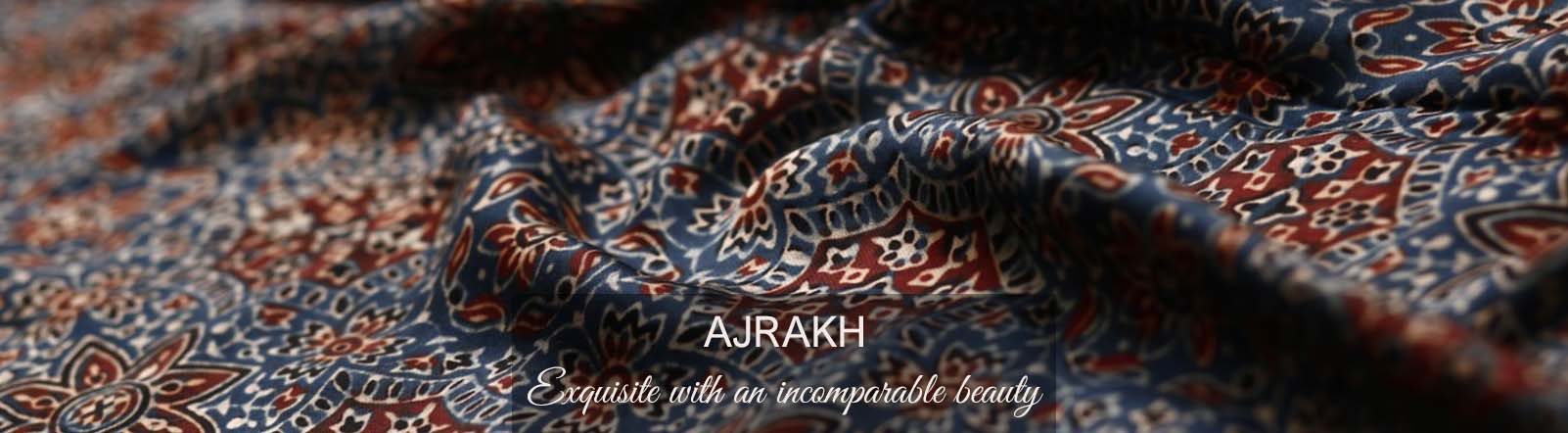 Ajrakh Blockprint : Highest Standard of Elegance with Vegetable Dyes