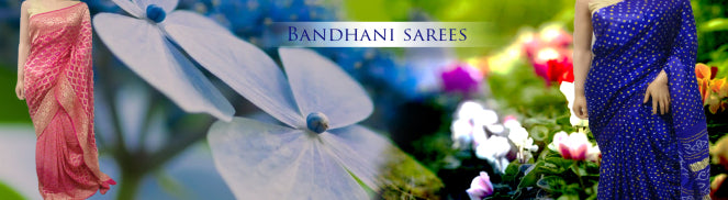 Ravishing look of Bandhej Sarees
