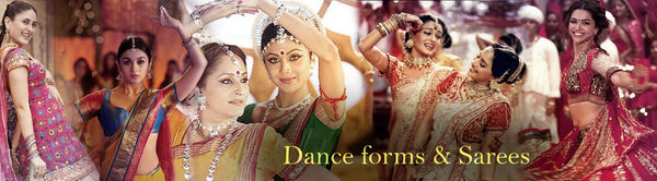 Dance forms and sarees - Luxurionworld
